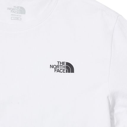 THE NORTH FACE Crew Neck Crew Neck Pullovers Unisex Street Style Plain Cotton 9