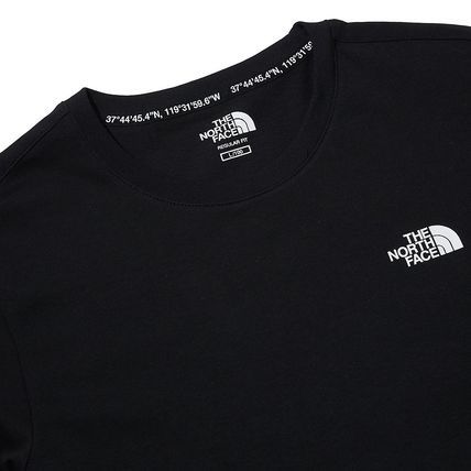 THE NORTH FACE Crew Neck Crew Neck Pullovers Unisex Street Style Plain Cotton 14