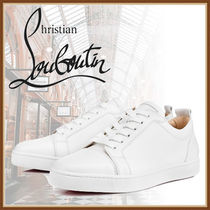Christian Louboutin Plain Leather Sneakers
