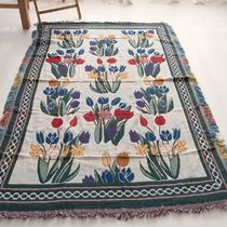 AMYLUCY Flower Patterns Carpets & Rugs