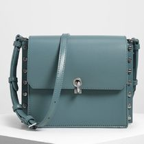 Charles&Keith Casual Style Plain Party Style Elegant Style Shoulder Bags