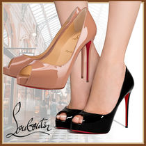 Christian Louboutin Casual Style Pin Heels Party Style Elegant Style