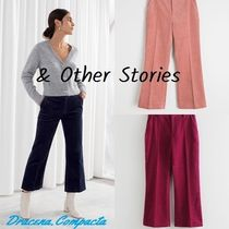 & Other Stories Casual Style Corduroy Plain Cropped & Capris Pants