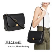 Madewell Casual Style Plain Leather Crossbody Formal Style