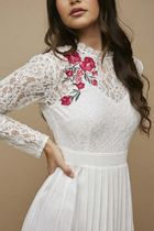 Little Mistress Flower Patterns Casual Style Maxi Long Sleeves Long