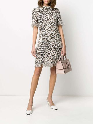 Leopard Patterns Casual Style Tight Party Style