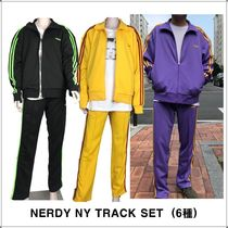 NERDY [NERDY] NY TRACK SET Unisex Two-Piece Sets