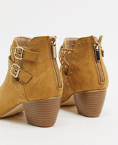 Oasis Casual Style Plain Boots Boots