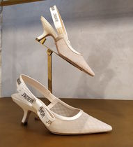 Christian Dior JADIOR Star Pin Heels Bridal Pointed Toe Pumps & Mules