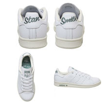 adidas STAN SMITH Casual Style Street Style Logo Low-Top Sneakers