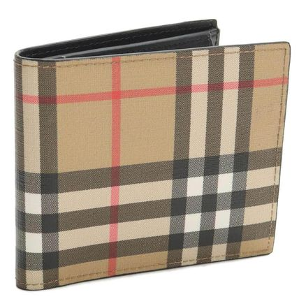 Other Check Patterns PVC Clothing Folding Wallets