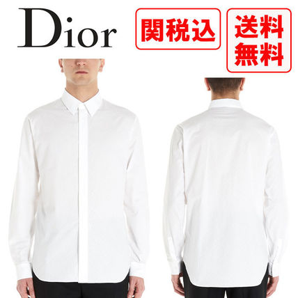 Christian Dior Shirts Street Style Long Sleeves Luxury Shirts