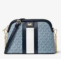 Michael Kors Monogram Casual Style Canvas Blended Fabrics Bag in Bag 2WAY