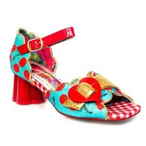 Irregular Choice Other Plaid Patterns Tropical Patterns Open Toe Casual Style