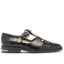 TOGA Plain Leather Loafer & Moccasin Shoes