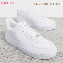 Nike AIR FORCE 1 Star Casual Style Unisex Leather Low-Top Sneakers
