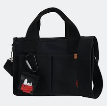 SHOOPEN Casual Style Unisex Collaboration Handbags