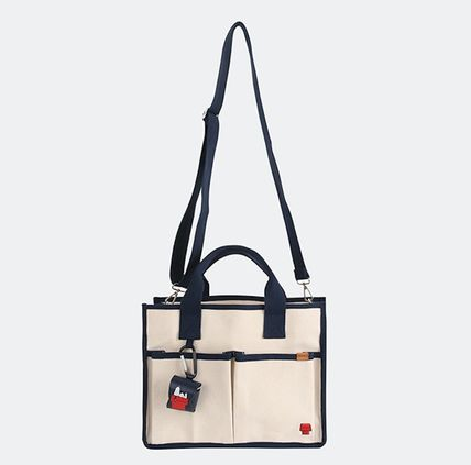 Casual Style Unisex Collaboration Handbags