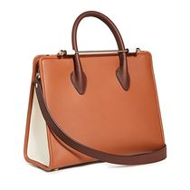 STRATHBERRY Casual Style 2WAY Leather Office Style Elegant Style Totes