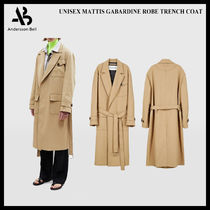 ANDERSSON BELL Unisex Long Oversized Trench Coats