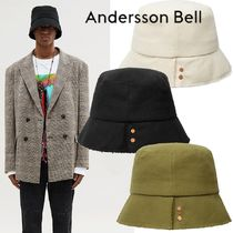 ANDERSSON BELL Street Style Wide-brimmed Hats