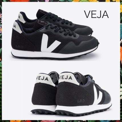 Rubber Sole Casual Style Unisex Plain Low-Top Sneakers