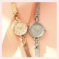 OST Collaboration Round Silver Analog Watches