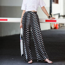 Flared Skirts Printed Pants Stripes Dots Monogram