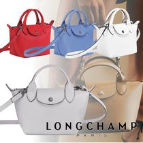 Longchamp LE PLIAGE CUIR Casual Style 3WAY Party Style Elegant Style Crossbody