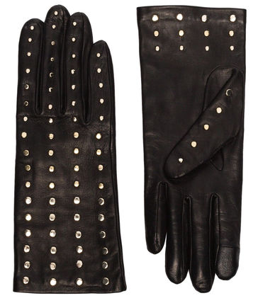 Silk Leather Leather & Faux Leather Gloves