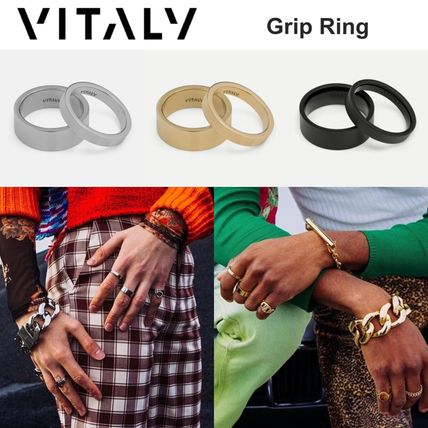Unisex Street Style Stainless Rings