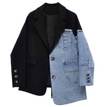 Short Casual Style Denim Medium Party Style Denim Jackets