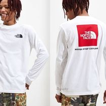 THE NORTH FACE Street Style Long Sleeves Cotton Logos on the Sleeves