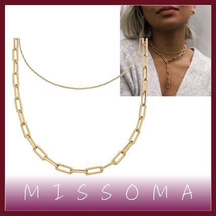 Costume Jewelry Casual Style Unisex Street Style Chain Brass