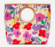 FRANCIS VALENTINE Flower Patterns Casual Style Handbags