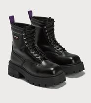 Eytys Rubber Sole Lace-up Casual Style Plain Logo Lace-up Boots