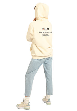 Pullovers Unisex Street Style Long Sleeves Plain Oversized