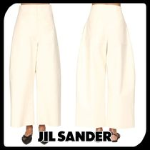 Jil Sander Casual Style Street Style Plain Cotton Long Oversized