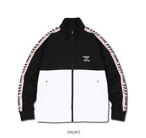 Crump Unisex Street Style Collaboration Co-ord Logo Track Jackets