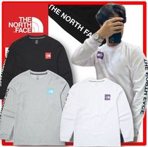 THE NORTH FACE WHITE LABEL Unisex Street Style Long Sleeves Cotton Long Sleeve T-shirt