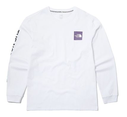 THE NORTH FACE Long Sleeve Unisex Street Style Long Sleeves Cotton Long Sleeve T-shirt 4