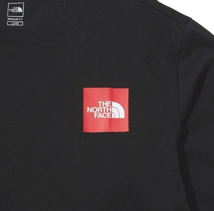 THE NORTH FACE Long Sleeve Unisex Street Style Long Sleeves Cotton Long Sleeve T-shirt 18