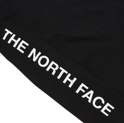 THE NORTH FACE Long Sleeve Unisex Street Style Long Sleeves Cotton Long Sleeve T-shirt 20