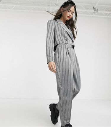Street Style Oversized Co-ord Front Button Womens