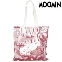 Moomin Flower Patterns Unisex A4 Other Animal Patterns Logo