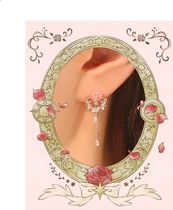 OST Costume Jewelry Collaboration Silver Earrings