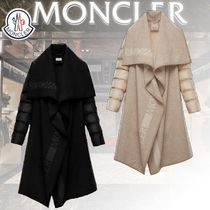 MONCLER Wool Plain Logo Jackets