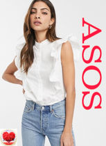 ASOS Casual Style Sleeveless Plain Cotton Tanks & Camisoles