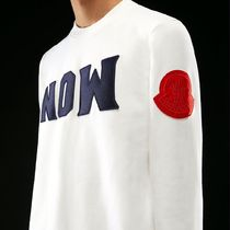 MONCLER MONCLER GENIUS Crew Neck Long Sleeves Cotton Sweatshirts