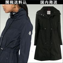MONCLER Casual Style Street Style Plain Medium Long Office Style